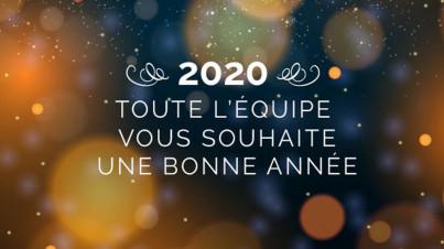 Bonne année 2020 actualité