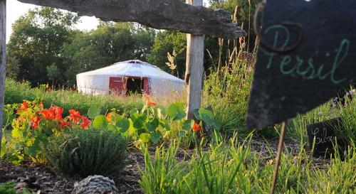 Yourte et nature en Morbihan