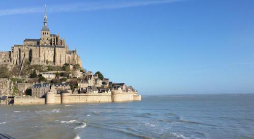 La Bretagne, vue du Mont-Saint-Michel