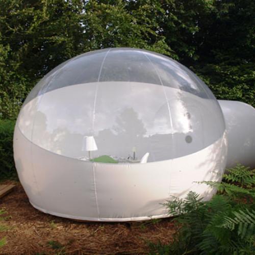 Dormir en bulle dans le Finistère