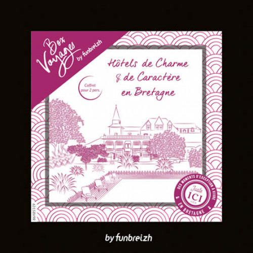 BOX Hôtels de Charme & de Caractère en Bretagne