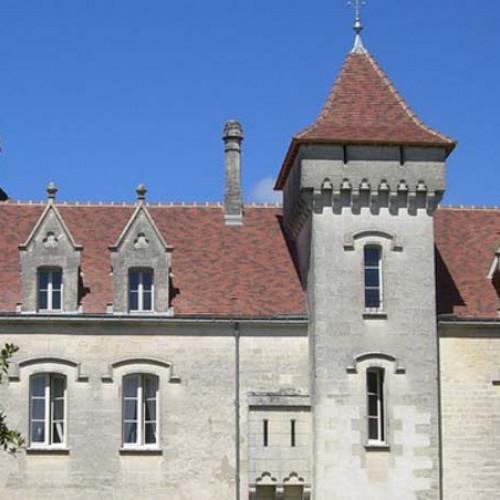 Un château dans les vignes